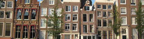 amsterdam netherlands row houses